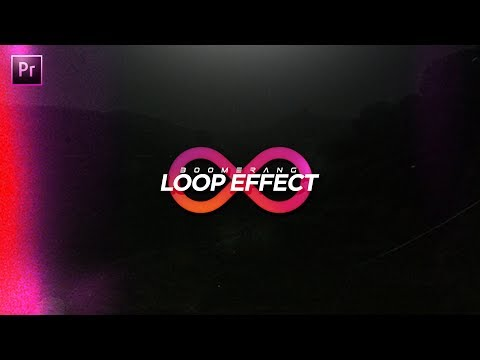 How to Create a Boomerang Video! Loop Effect Tutorial! (Premiere Pro CC 2017 Tutorial)