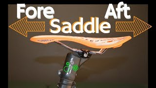 How to set Saddle Fore Aft | Bike Fit Tip