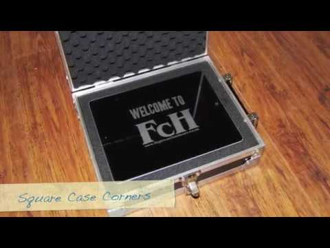 Flightcase Hardware launches exclusive iPad Hardcases