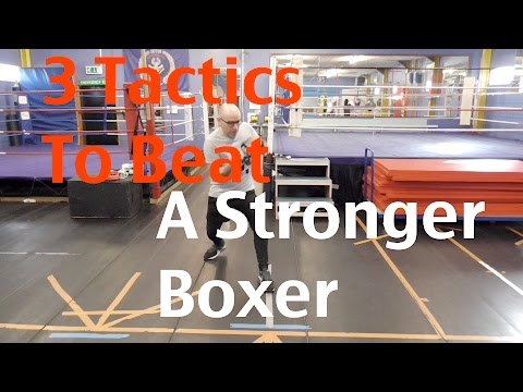 Boxing Tips - 3 Tactics to Beat a Stronger Boxer