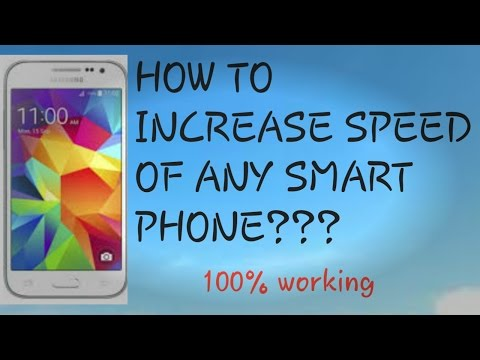 How to increase speed of Samsung galaxy j5 smart phone?