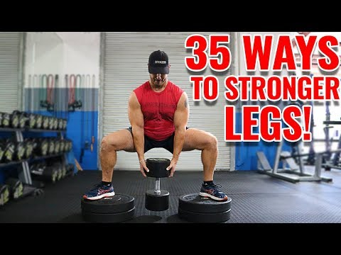 Top 35 Lower Body Exercises with Dumbbells