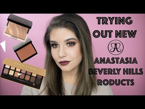 Trying out the Anastasia Beverly Hills Spring Collection + Soft Glam Tutorial! | Jill Foran