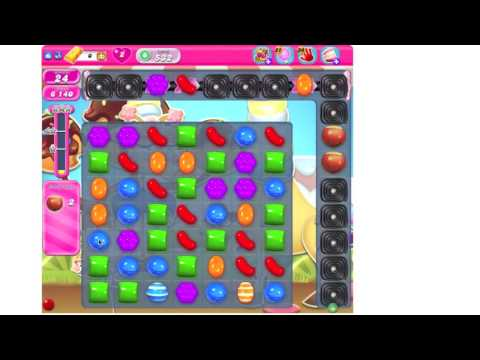 Candy Crush Saga Level 532 ★★★ no boosters (TUTORIAL)