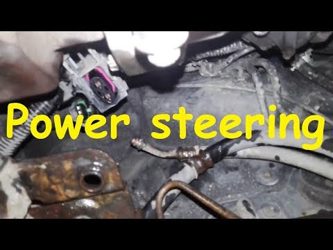 Opel Zafira B power steering /Electric Power steering pump location