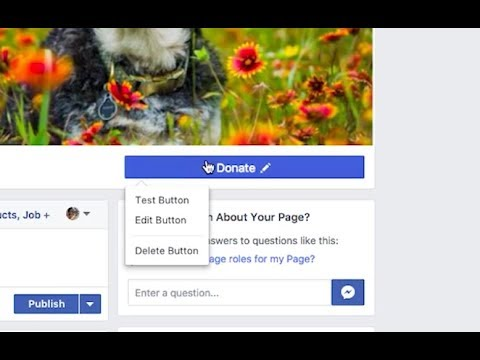 How to link your Facebook Donate button to your fundraising campaign