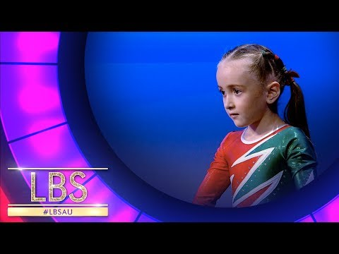 The Most Adorable 6 Year Old Gymnast | Little Big Shots Australia