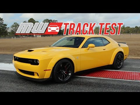 2018 Dodge Challenger SRT Hellcat Widebody | Track Test