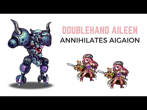 Aileen with Fixed Dice and Doublehand VS Aigaion