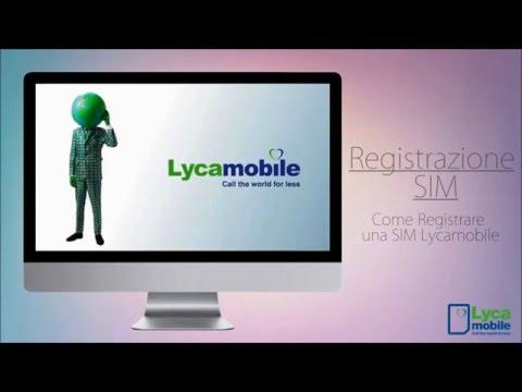 Guida alla Registrazione delle SIM Lycamobile
