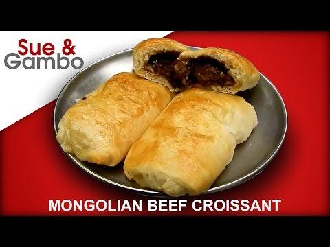 Mongolian Beef Croissant -  Pillsbury Crescent Dough