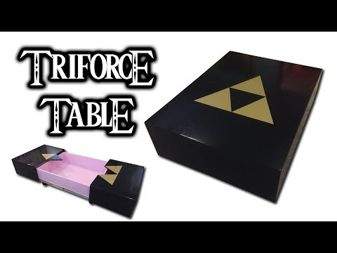 How to Make a Legend of Zelda Triforce Coffee Table