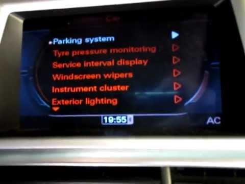 Bluetooth streaming MMI 3G Navigation Plus