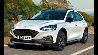 2019 Ford Focus Active Interior, Exterior and Drive