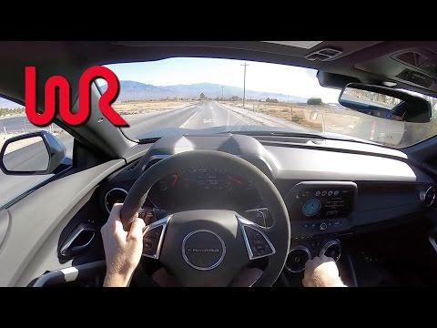 2017 Chevrolet Camaro SS 1LE - WR TV POV Test Drive