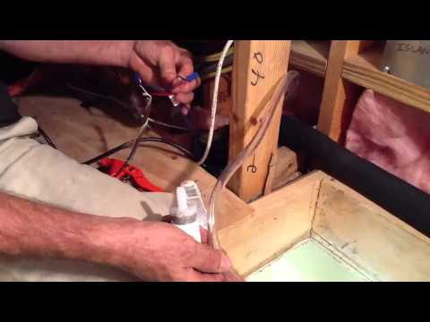 Condensate Pump installation
