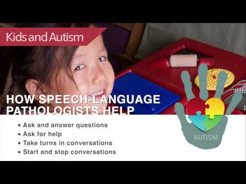 Kids and Autism: How Speech-Language Pathologists Help