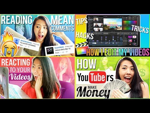 📲HOW I EDIT MY THUMBNAILS for Youtube Videos on iPhone, iPad, and Photoshop for FREE | Katie Tracy ♡