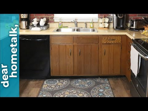 dear hometalk: how can I transform my kitchen cabinets without replacing them?