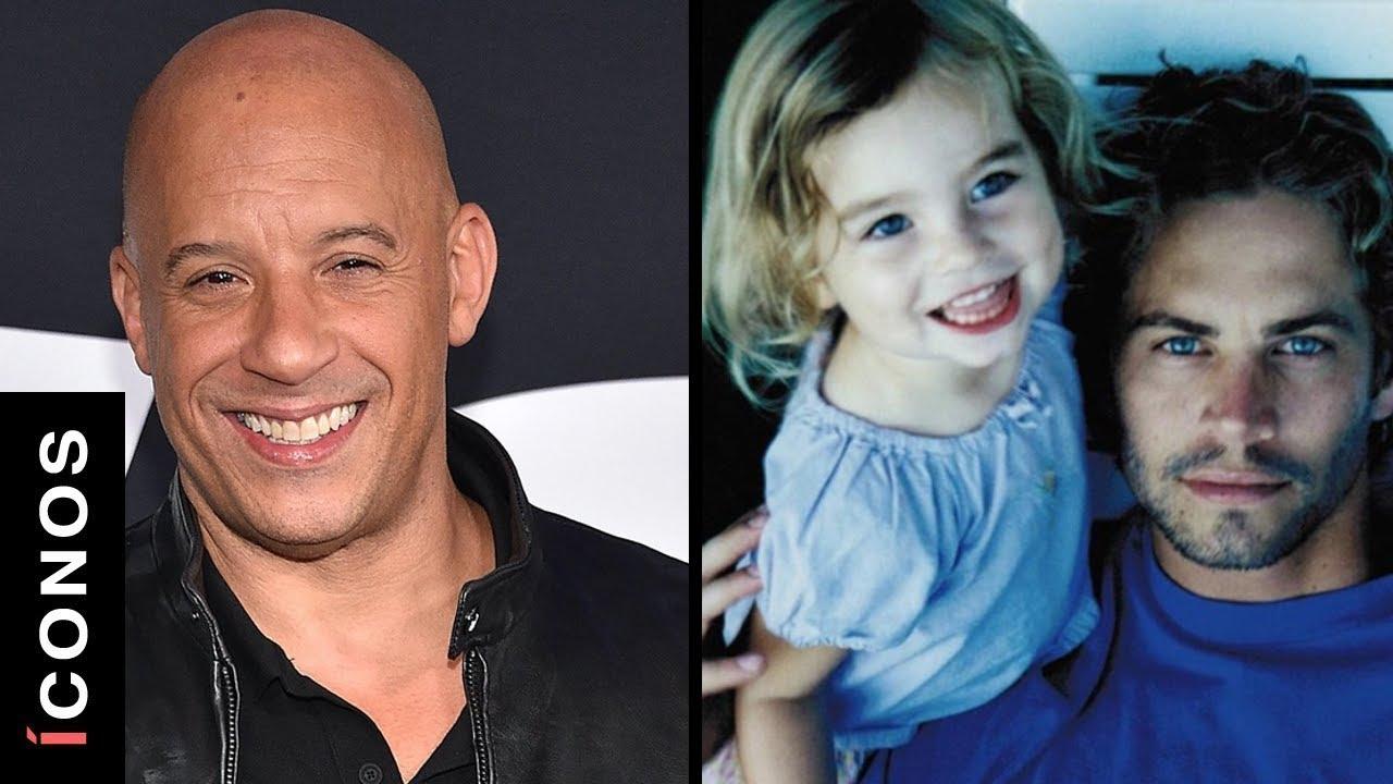 Vin Diesel adoptó a la hija de Paul Walker
