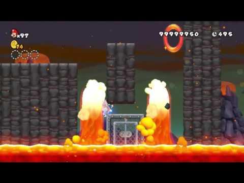 New Super Mario Bros. Wii Custom Level - Volcanic Ruins
