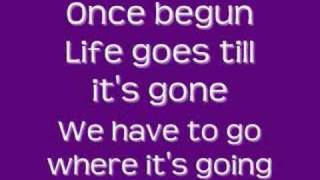 Then You Look at Me - Celine Dion (with lyrics)
