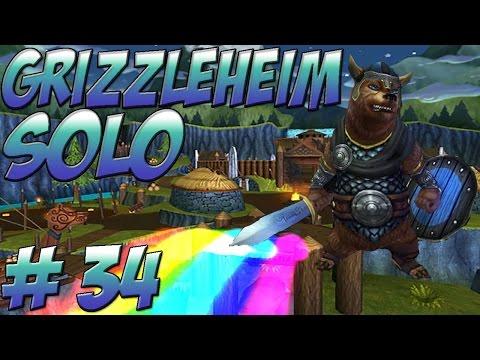 Wizard101 Solo Walkthrough - Grizzleheim (Final) - Part 34 Nidavellir and Ravenscar