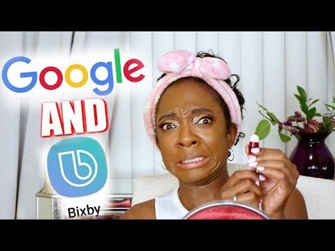 Google AND BIXBY PICK MY DRUGSTORE MAKEUP | NikkiBeautyBliss
