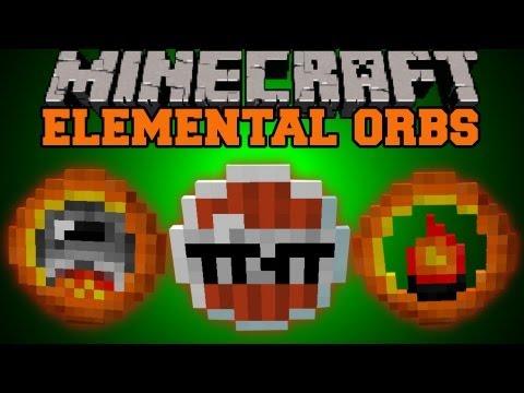 Minecraft : Elemental Orbs (Magic, Spells, Unique Abilities) Mod Showcase