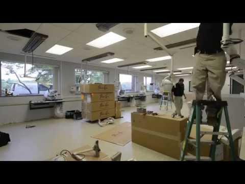 Dental Hygiene Clinic equipment installation time-lapse video