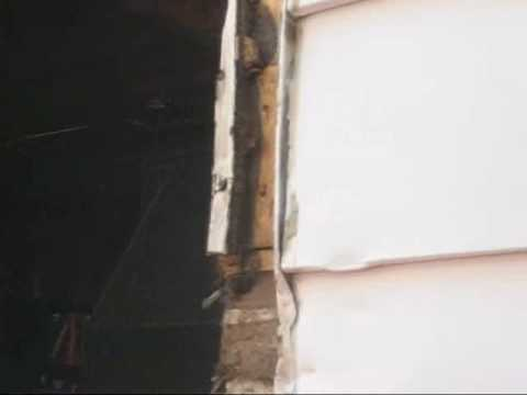 How to take out a glass block window