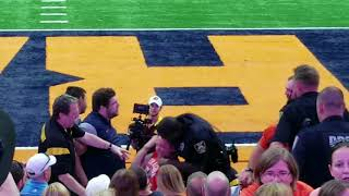 2 Fans fight usher at Syracuse football game in Carrier Dome