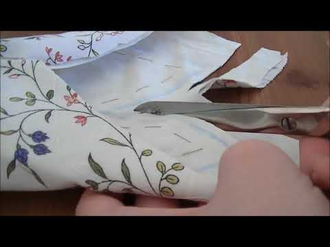 Making the Colonial Williamsburg Swallowtail-Jacket, Part 3: Sleeves, slashes and outer seams.