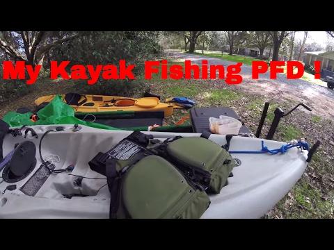 My Kayak Fishing Life Vest !