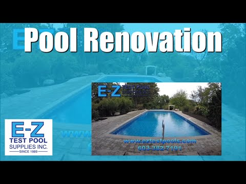 Swimming Pool Renovation and New Pool Construction | E-Z Test Pool Supplies, Inc