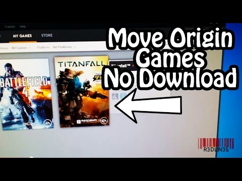 Copy/Move/Backup Origin Games Without Re-Downloading