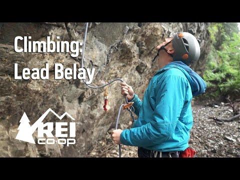 Rock Climbing: Lead Belay
