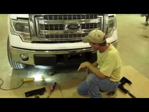 Frontier Grille Guard 2009-14 Ford F-150 Installation