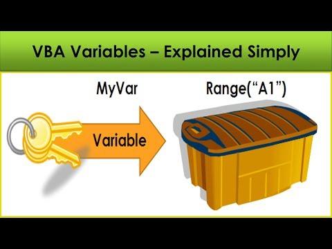 VBA for Beginners - Vba Variables Explained Simply