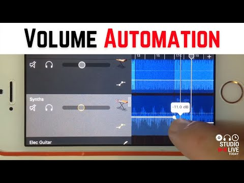 Using Automation in GarageBand on iOS to Automate Volume (iPhone/iPad) - Quick Tip