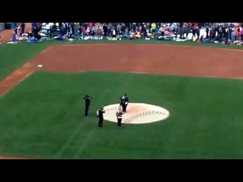 National Anthem, Juanita Harris @ AT&T