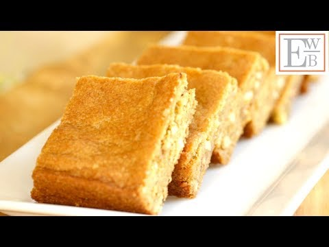 Beth's Butterscotch Blondie Recipe | ENTERTAINING WITH BETH