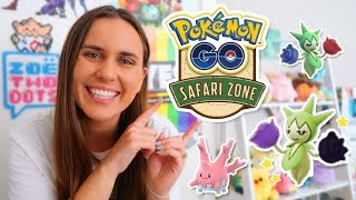 NEW SHINIES - DORTMUND SAFARI ZONE GUIDE! Pokemon GO | ZoeTwoDots