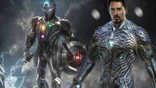 Tony Stark Vibranium Iron Man Suit Mark 85 - Avengers Endgame