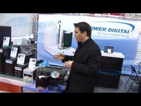 Vinpower Duplication Product Introduction at CES 2011