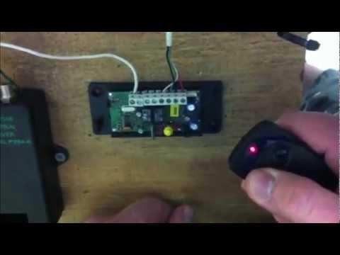 Nice Apollo Transmitter - How to Program a Nice Apollo Transmitter 320N FLO2R-S/A