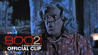 """Boo 2! A Madea Halloween (2017 Movie) Official Clip """"Outhouse"""" – Tyler Perry"""