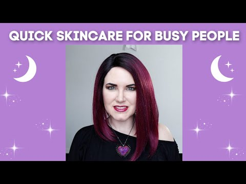 Quick and Easy Skincare Routine for Busy Moms and Other Busy People @phyrra
