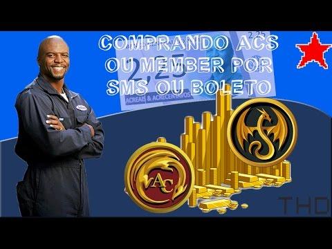 【AQW】Como Comprar ACs por SMS ou ACs e Member por Boleto Bancário (2016)