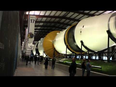 NASA's moon rocket in Houston Texas the Saturn V or 5
